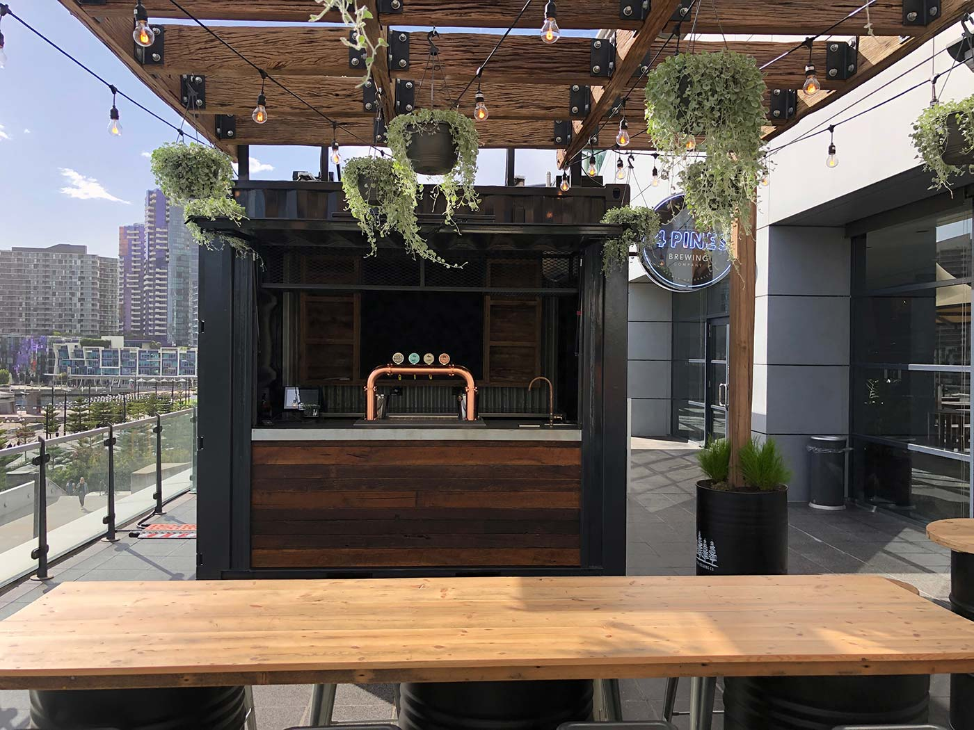 4-Pines-10ft-Shipping-Container-Bar-Conversion-4093