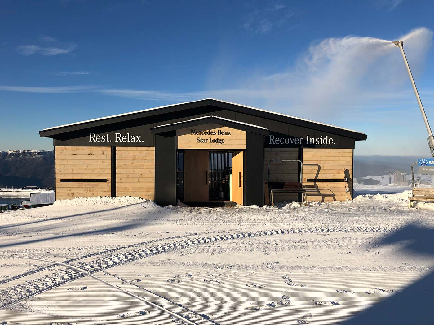 Mercedes-Benz-Mt-Buller-Shipping-Container-Ski-Lodge-Activation-7