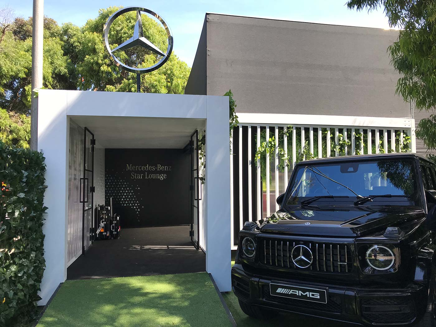 Mercedes-Benz-Star-Bar-Shipping-Container-Hospitality-Activation-Australian-Grand-Prix-1