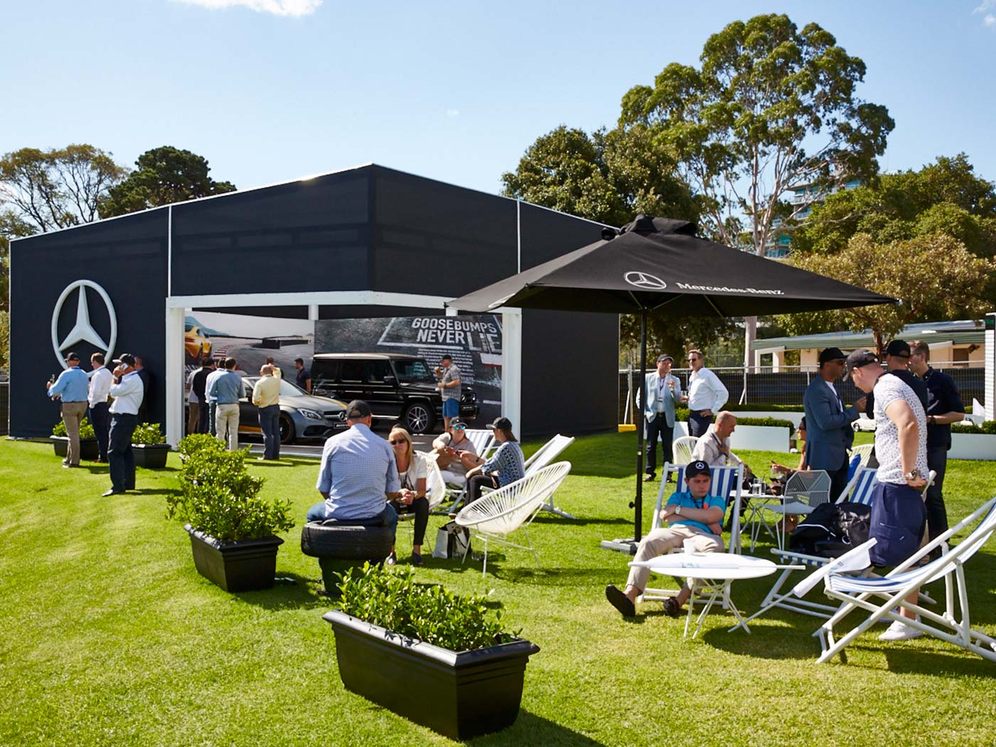 Mercedes-Benz-Star-Bar-Shipping-Container-Hospitality-Activation-Australian-Grand-Prix-7