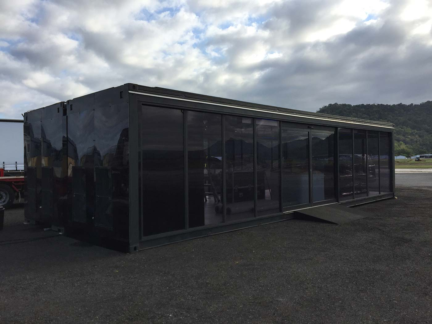 Mercedes-Benz-Truck-Launch-Shipping-COntainer-Activation-4