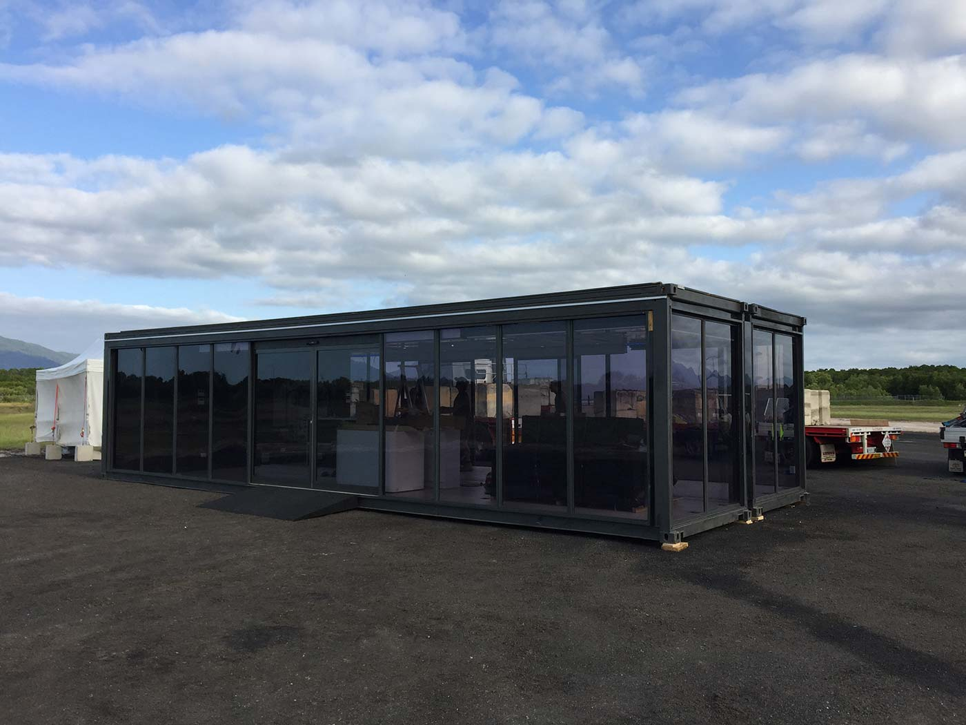 Mercedes-Benz-Truck-Launch-Shipping-COntainer-Activation-5